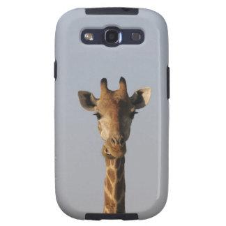 Portrait of Giraffe (Giraffa camelopardalis), Samsung Galaxy S3 Covers