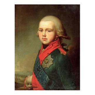 Portrait of Grand Duke Konstantin Pavlovich Postcard