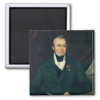 Portrait of Guillaume Dupuytren Magnet