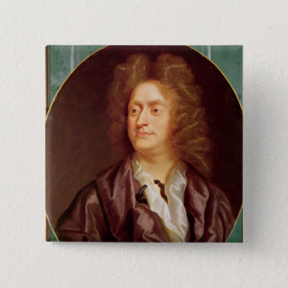 Portrait of Henry Purcell, 1695 15 Cm Square Badge