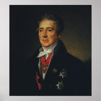 Portrait of Ivan Dmitriev, 1835 Poster