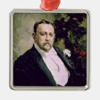 Portrait of Ivan Morosov  1903 Christmas Ornament