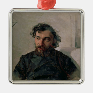 Portrait of Ivan Pochitonov , 1882 Christmas Ornament