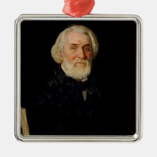 Portrait of Ivan S. Turgenev , 1879 Christmas Ornament