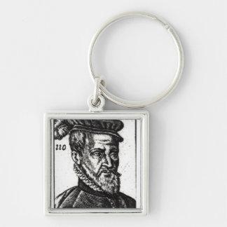 Portrait of Joachim du Bellay Key Ring