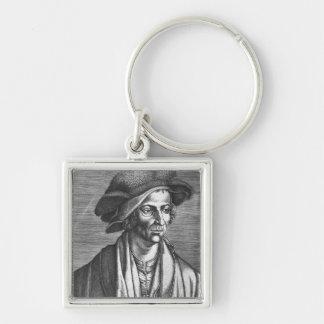 Portrait of Joachim Patinir, 1521 Key Ring