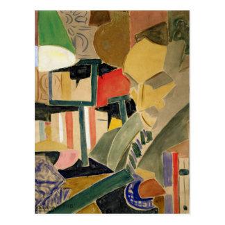 Portrait of Joan Salvat-Papasseit  1918 Postcard