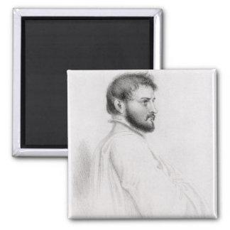 Portrait of Johann Ludwig Burckhardt Magnet