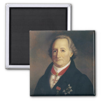 Portrait of Johann Wolfgang von Goethe Magnet
