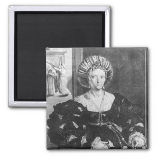 Portrait of Lucrezia Borgia Magnet