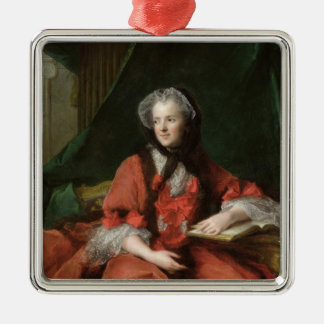 Portrait of Madame Maria Leszczynska  1748 Christmas Ornament