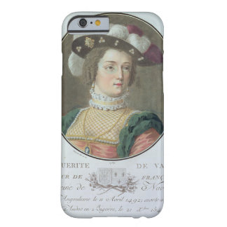 Portrait of Marguerite de Valois (1492-1549), 1787 Barely There iPhone 6 Case