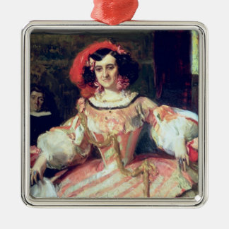 Portrait of Maria Guerrero Christmas Ornament