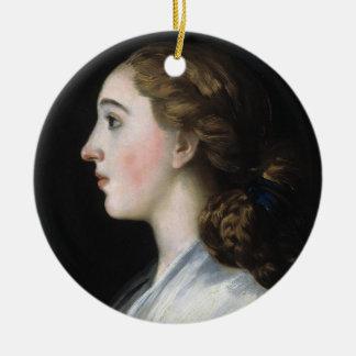 Portrait of Maria Teresa de Vallabriga Goya art Christmas Ornament