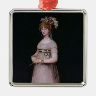 Portrait of Maria Theresa de Bourbon y Vallabriga, Christmas Ornament