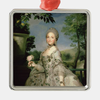 Portrait of Marie-Louise of Bourbon Christmas Ornament