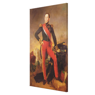 Portrait of Marquis Emmanuel de Grouchy Canvas Print