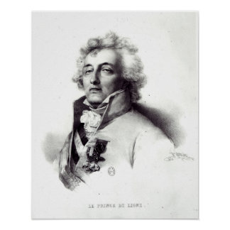 Portrait of Marshal Charles-Joseph  Prince Poster