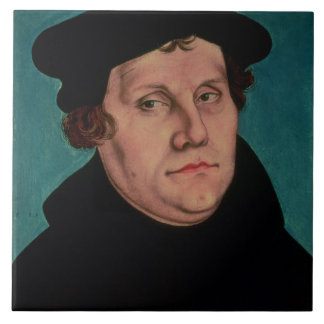 Portrait of Martin Luther, 1529 Tile