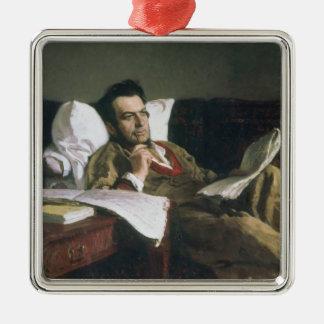 Portrait of Mikhail Glinka Christmas Ornament