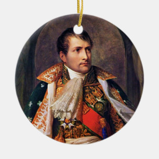 Portrait of Napoleon Bonaparte by Andrea Appiani Christmas Ornament