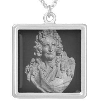 Portrait of Nicolas Boileau Custom Necklace