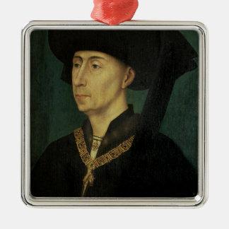 Portrait of Philip the Good  Duke of Burgundy Christmas Ornament