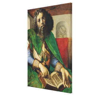 Portrait of Plato  c.1475 Canvas Print