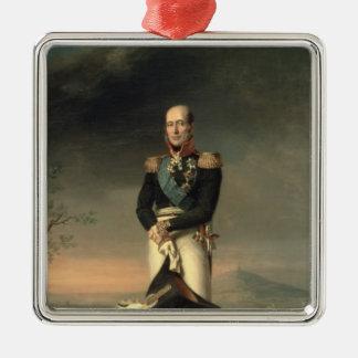 Portrait of Prince Mikhail Barclay de Tolly Christmas Ornament