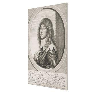 Portrait of Prince Rupert (1619-82) Count Palatine Canvas Print