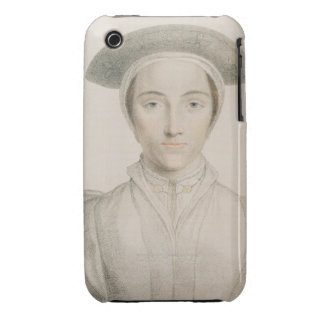 Portrait of Queen Anne of Cleves (1515-57) engrave iPhone 3 Case-Mate Case
