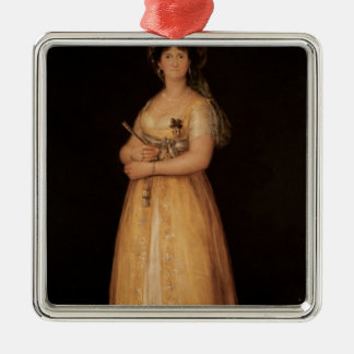 Portrait of Queen Maria Luisa  wife of King Christmas Ornament