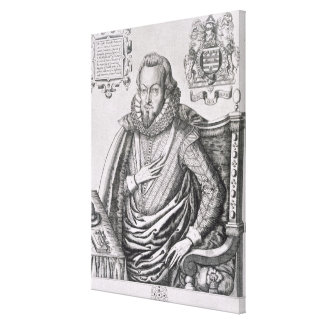 Portrait of Robert Cecil (1563-1612) 1st Earl of S Canvas Print