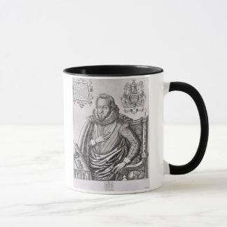 Portrait of Robert Cecil (1563-1612) 1st Earl of S Mug