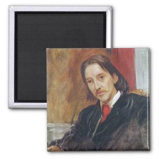 Portrait of Robert Louis Stevenson  1886 Magnet