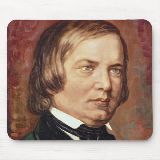 Portrait of Robert Schumann Mouse Pad