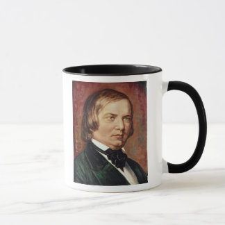 Portrait of Robert Schumann Mug
