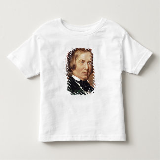 Portrait of Robert Schumann Toddler T-Shirt