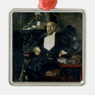 Portrait of S. Mamontov Christmas Ornament