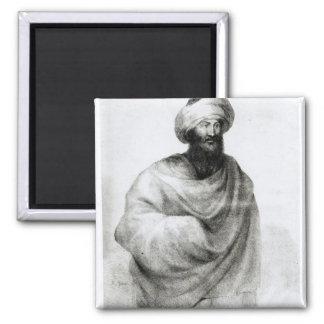 Portrait of Sheikh Ibrahim, or Johann Ludwig Magnet