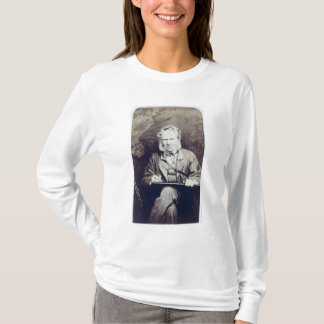 Portrait of Sir Edwin Landseer (1802-73) (albumen T-Shirt