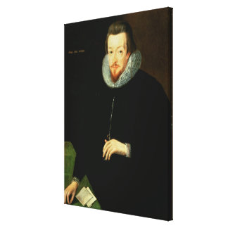 Portrait of Sir Robert Cecil (1563-1612) 1st Visco Canvas Print