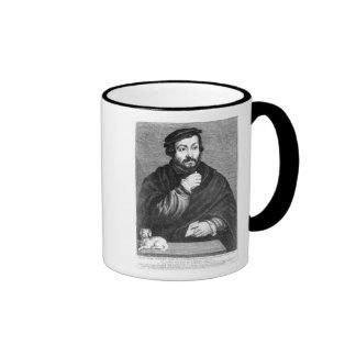 Portrait of Sir Thomas More Ringer Mug