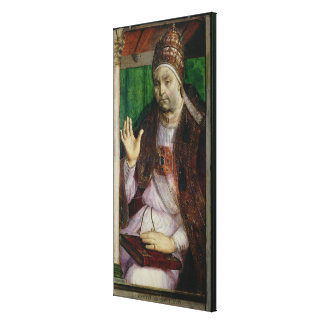 Portrait of Sixtus IV  c.1475 Canvas Print
