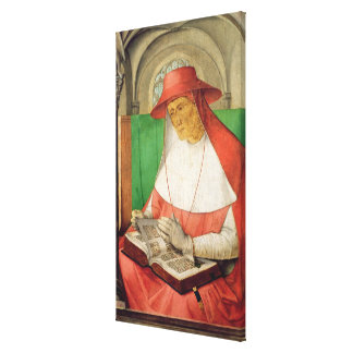 Portrait of St. Jerome  c.1475 Canvas Print