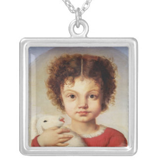 Portrait of the Artist's Daughter, Lina Silver Plated Necklace