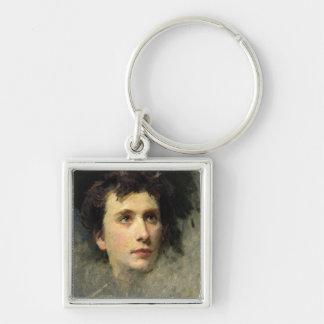 Portrait of the composer Pyotr Ilyich Key Ring