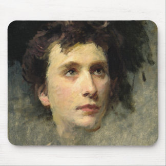 Portrait of the composer Pyotr Ilyich Mouse Pad