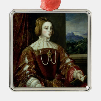 Portrait of the Empress Isabella of Portugal Christmas Ornament