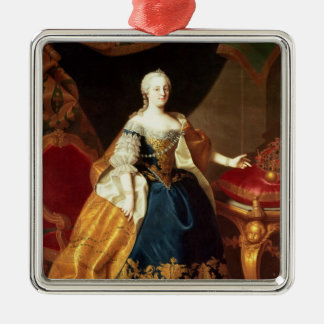 Portrait of the Empress Maria Theresa Christmas Ornament